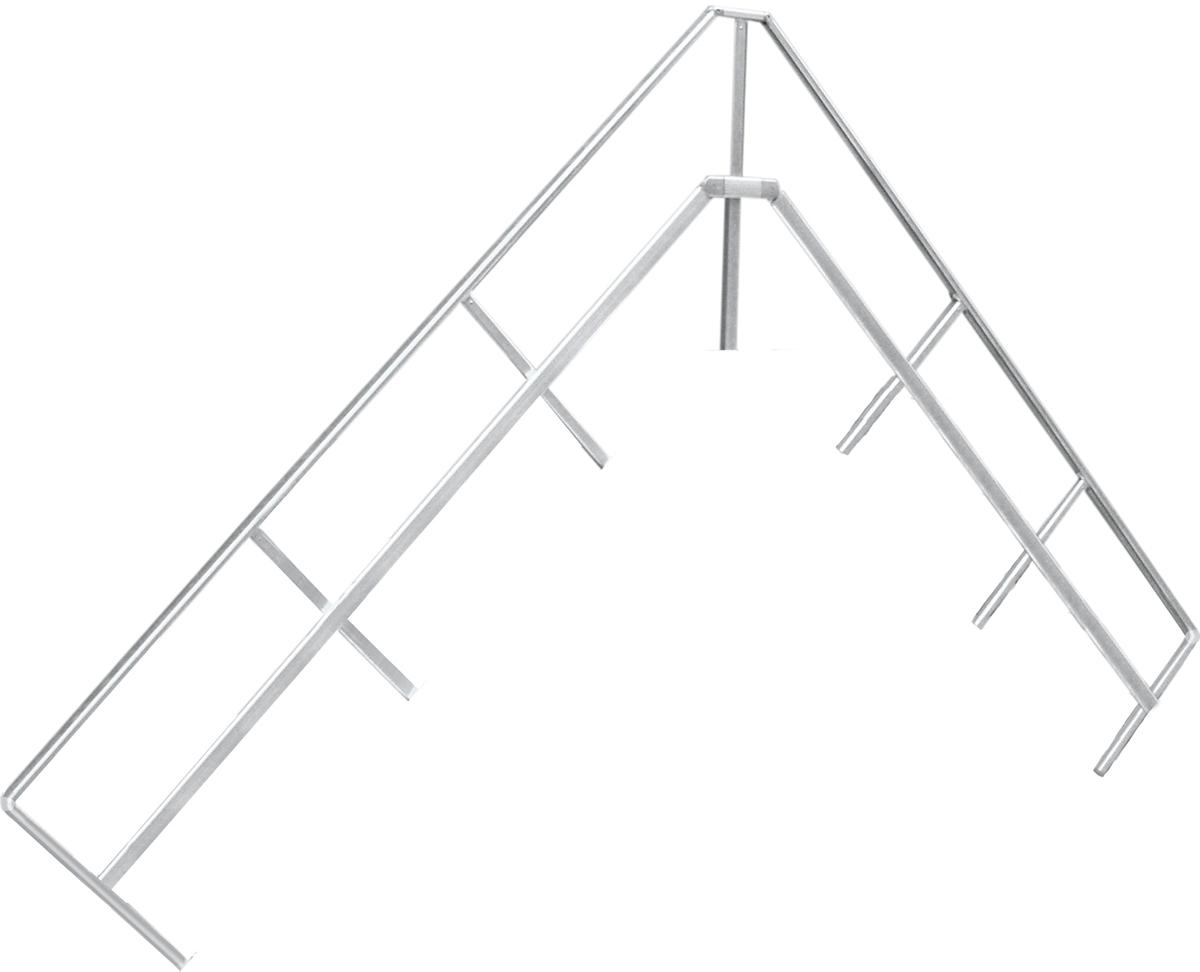 Hymer Handlauf Überstieg 45° 3 Stufen