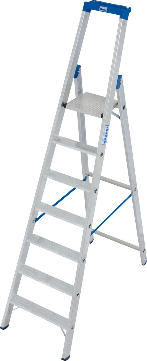 Krause Alu-Stufenstehleiter 8 Stufen