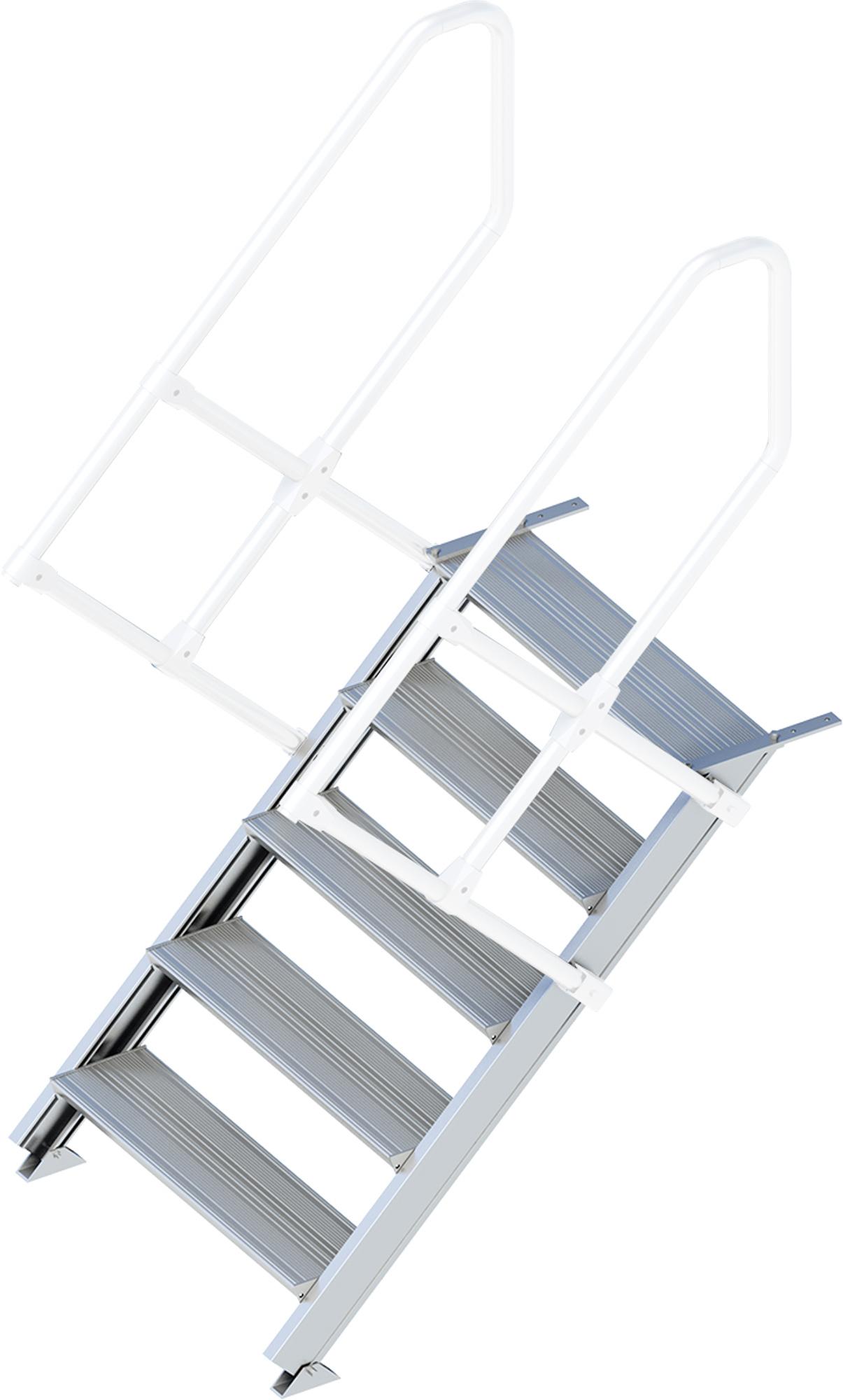 Layher Treppe 45° 5 Stufen - 800 mm breit