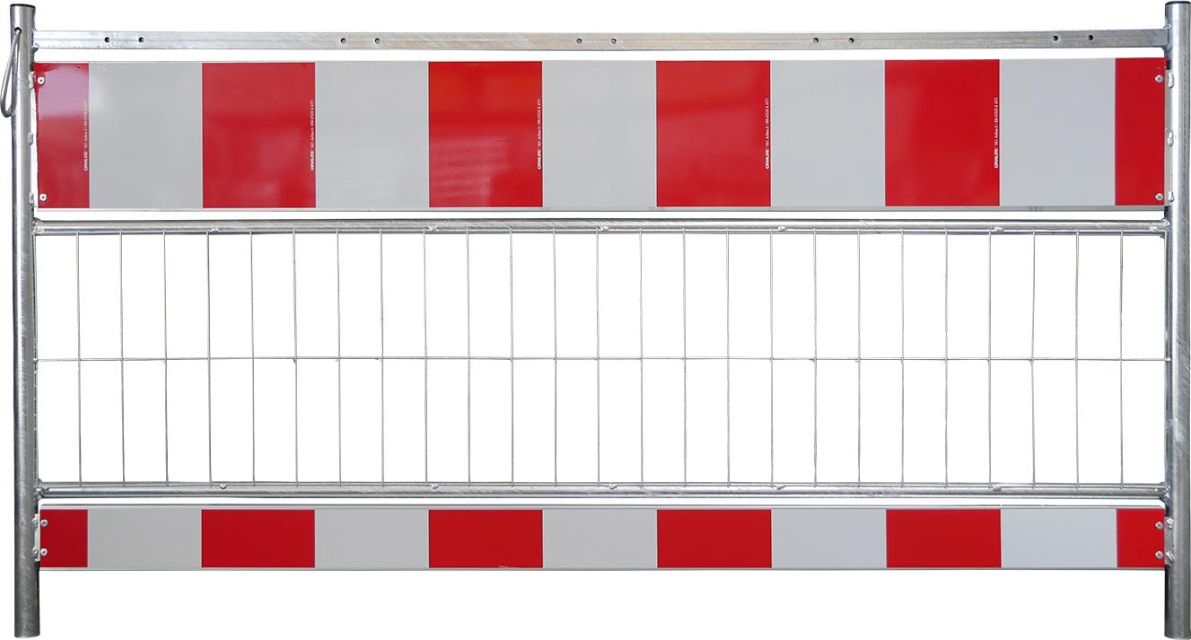 Schake Schrankenzäune nach TL Folie rot | gelb Typ 1