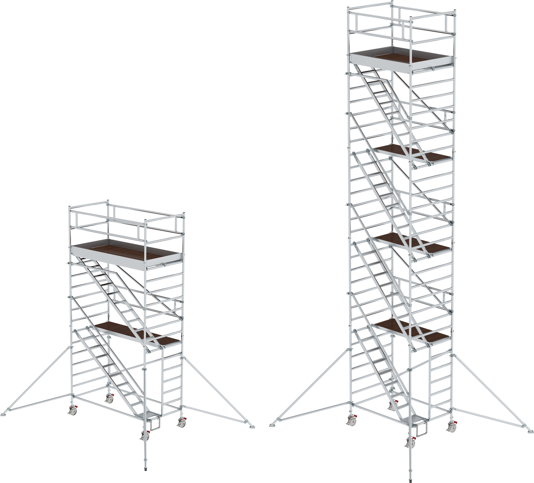 Treppengerüst Günzburger 2,45 x 1,35 m