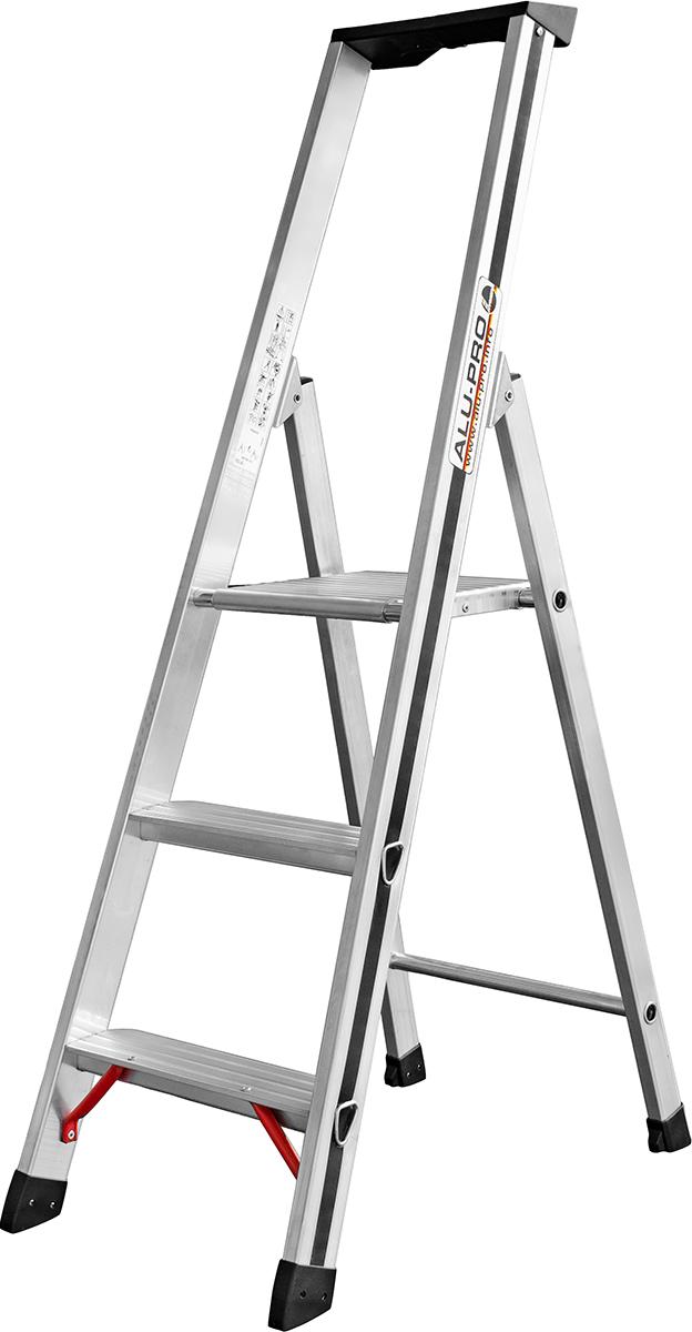 Hymer Alu-Pro Stehleiter 3 Stufen