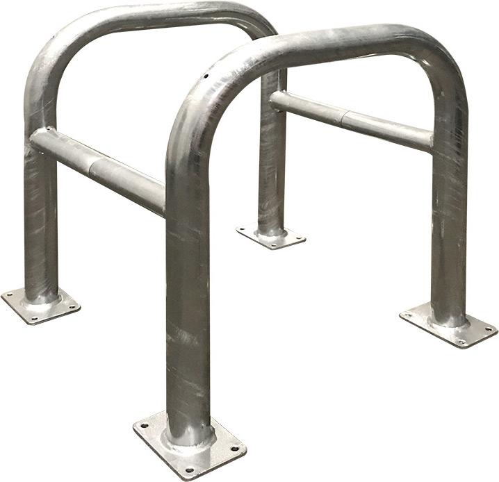 Schake Absperrbügel Stahl Ø 60|48 mm verzinkt