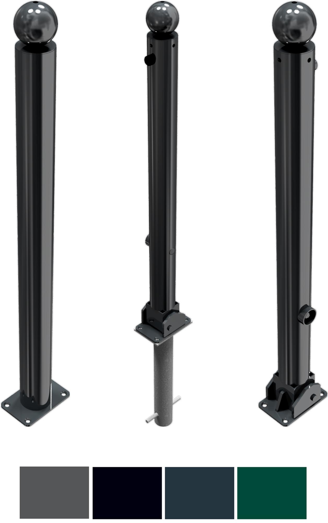 Schake Stilpfosten 475 Stahl Ø 76 mm