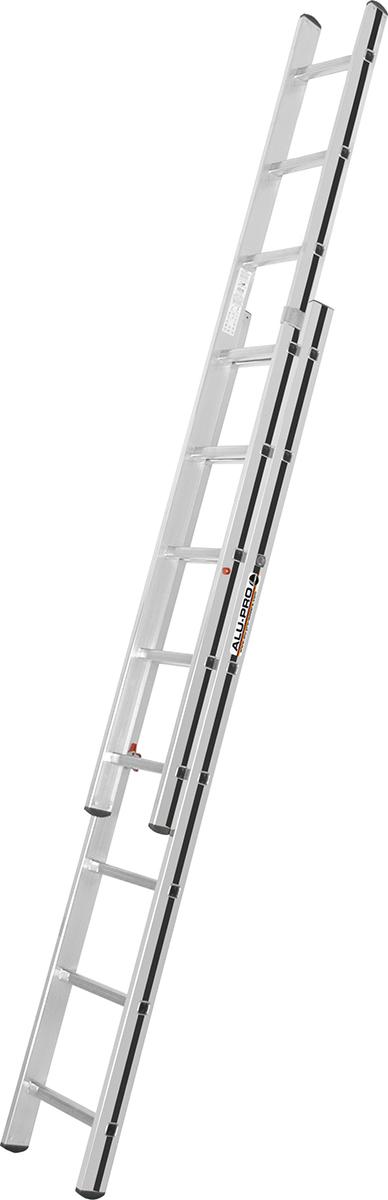 Hymer Alu-Pro Schiebeleiter 2-teilig 2x8 Sprossen