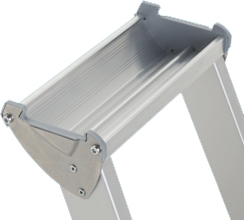 ZARGES Stufen Stehleiter Comfortstep S - 4 Stufen