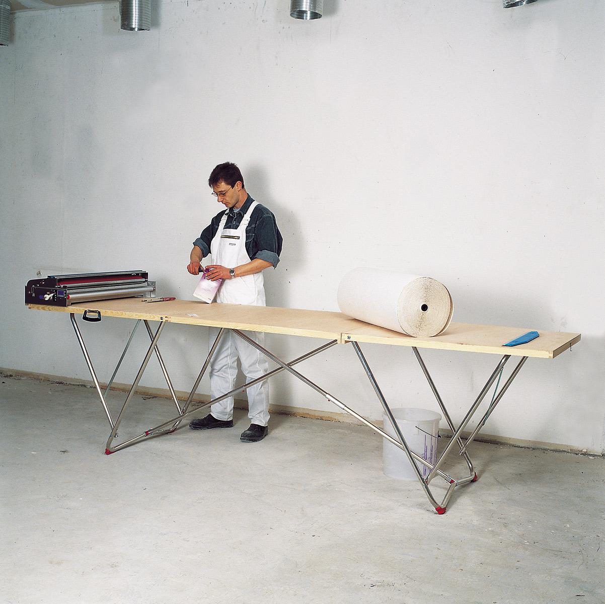euroline Holz-Tapeziertisch 3,00 m