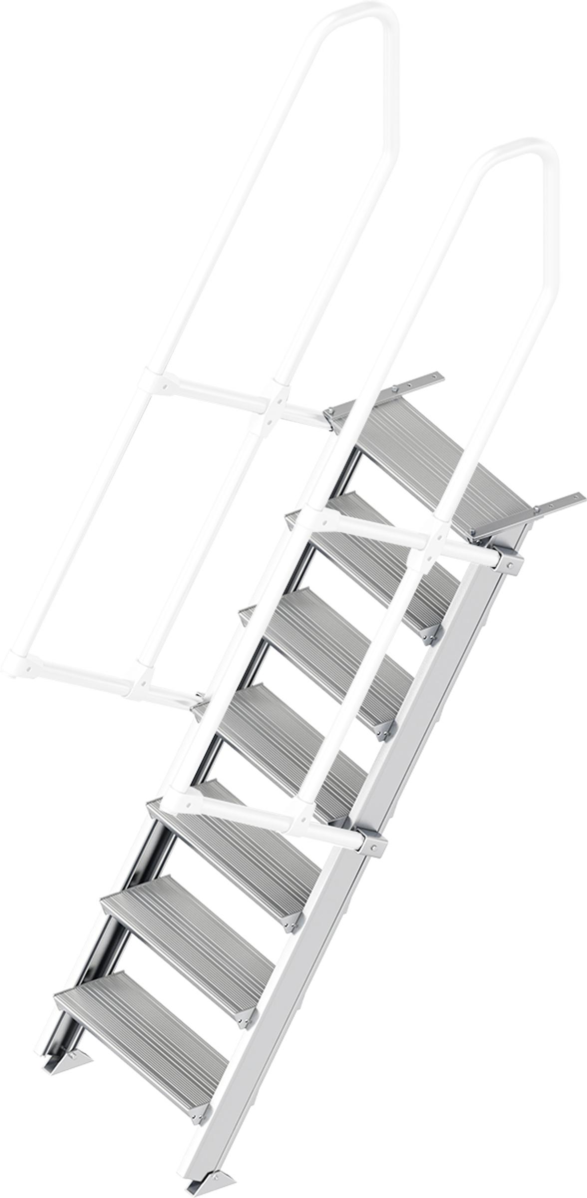 Layher Treppe 60° 7 Stufen - 600 mm breit