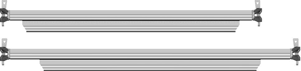 Layher Allround U-Riegel verstärkt Stahl