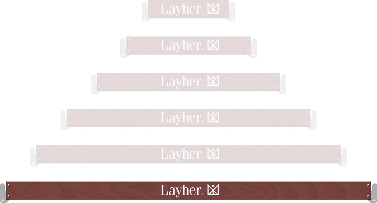Layher Allround U-Bordbrett Holz 4,14 m