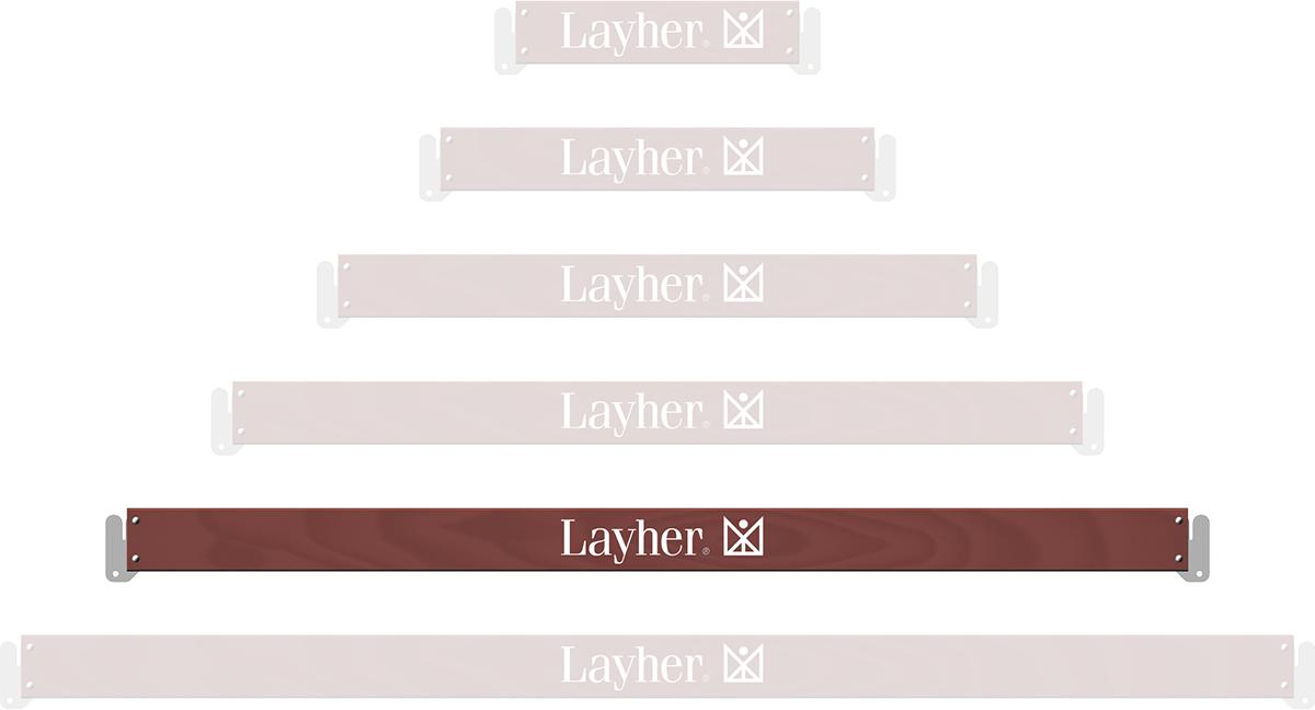 Layher Allround U-Bordbrett Holz 2,07 m