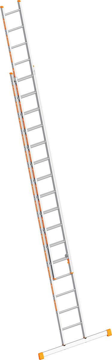 Layher Schiebeleiter Alu 2x16 Sprossen