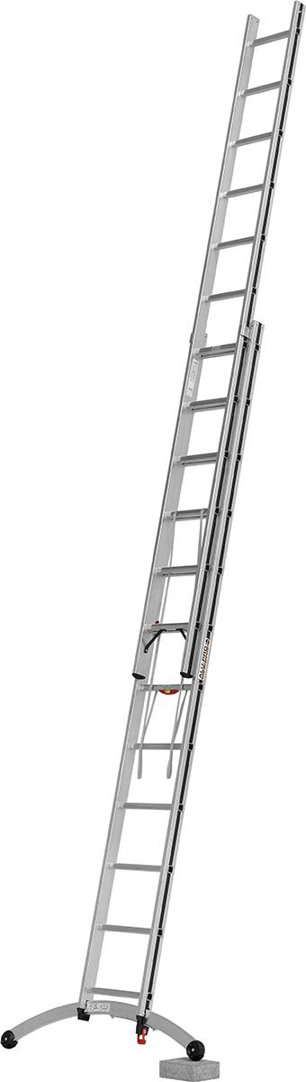 Hymer Alu-Pro Mehrzweckleiter Smart-Base 2-teilig 2x12 Sprossen