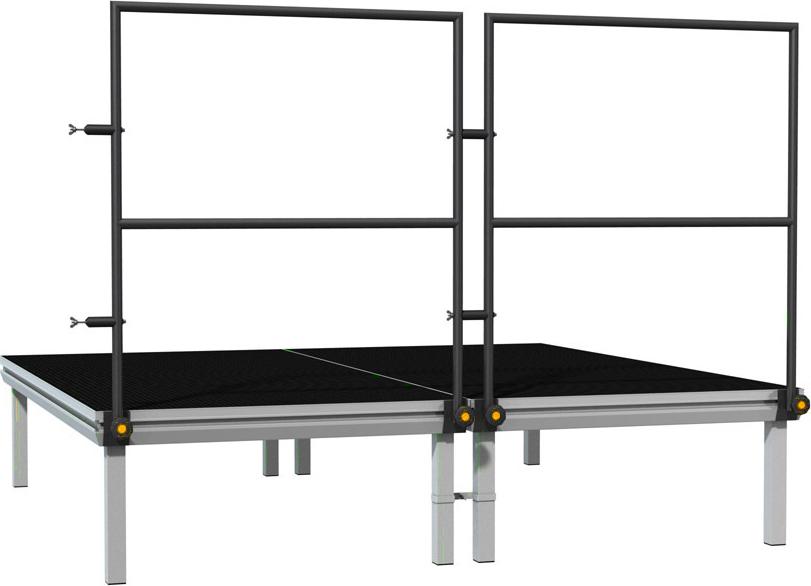 Global Truss Stage Deck Podesthandlauf 2,00 m