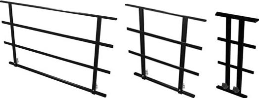 Bütec Bühnengeländer 100 Stahl