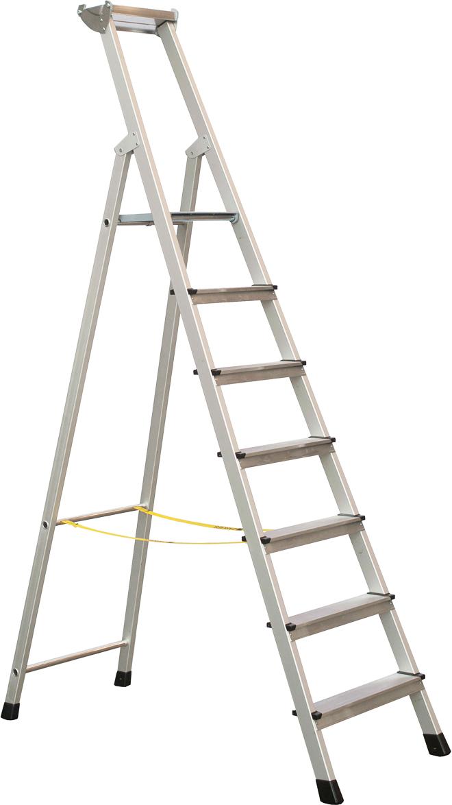 ZARGES Stufen Stehleiter XLstep S - 7 Stufen