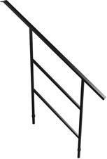 Bütec Handlauf 110 Stahl für Treppe 4-stufig