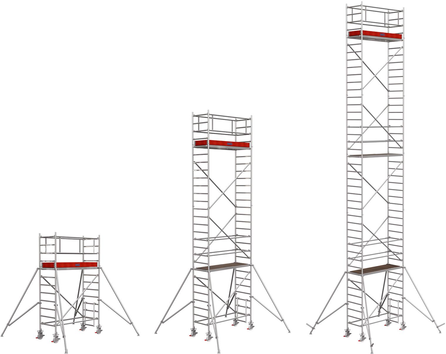 Rollgerüst Krause Stabilo Serie 1000 Alu 0,75x2,00m