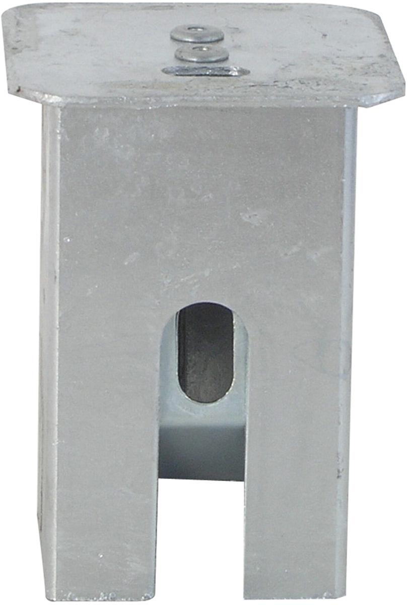 Schake Abdeckkappe mit Verschluss für 70 x 70 mm Pfosten