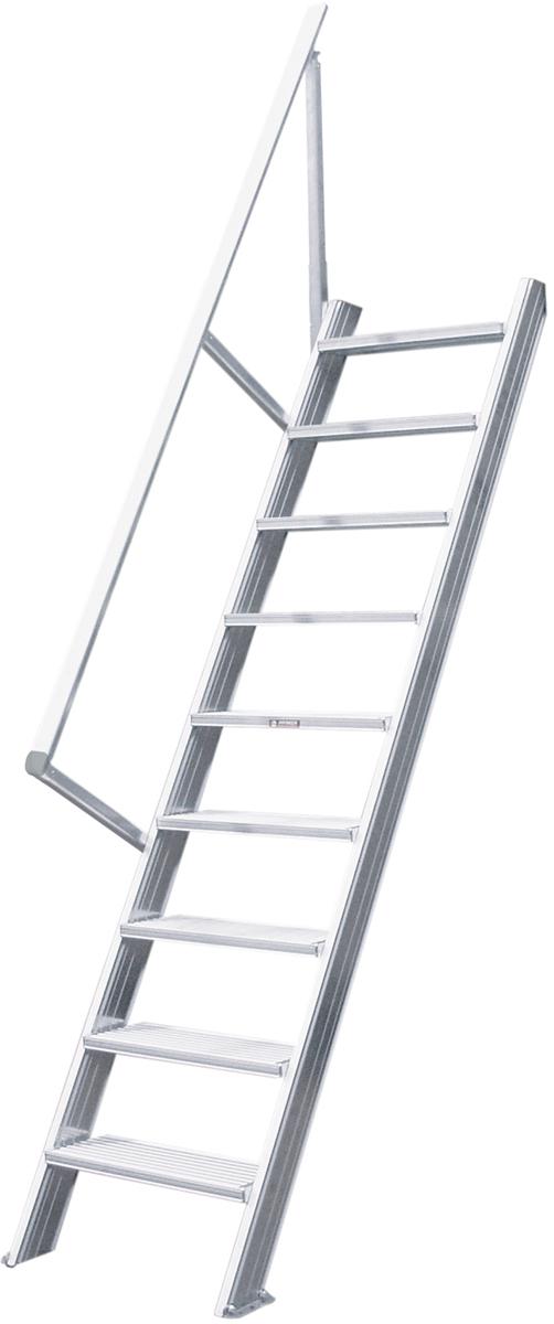 Hymer Treppe 60° 15 Stufen - 600 mm