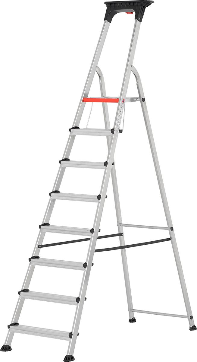 Hymer Alu-Pro Stehleiter 8 Doppelstufen