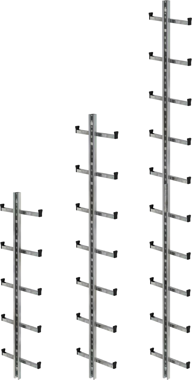 Günzburger Einholmleiter Stahl