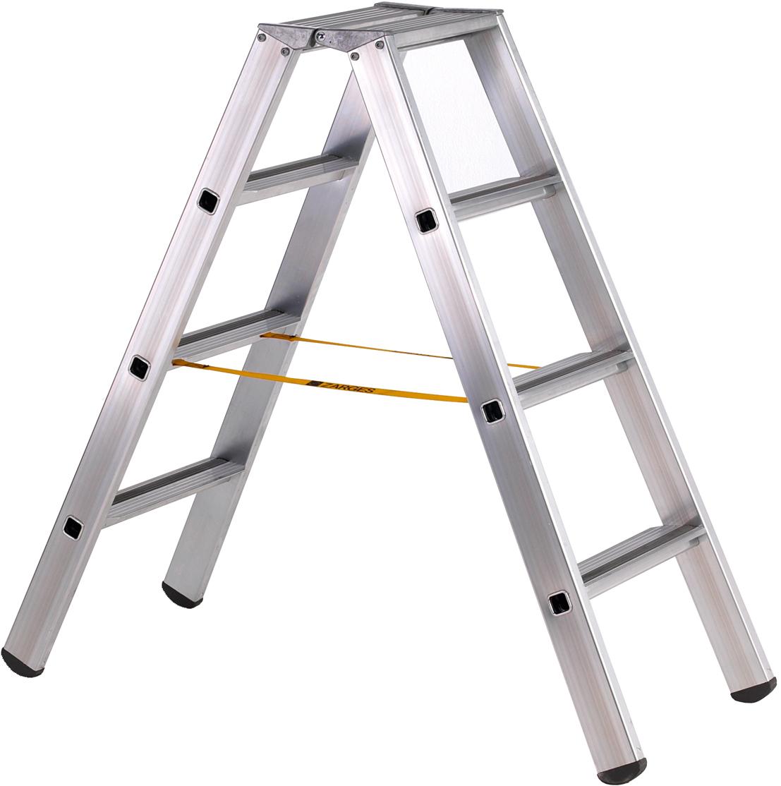 ZARGES Stufen Stehleiter R13step B - 2x3 Stufen