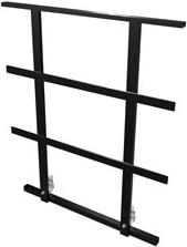 Bütec Umwehrungsgeländer Stahl 100 cm - 4 x 2 m