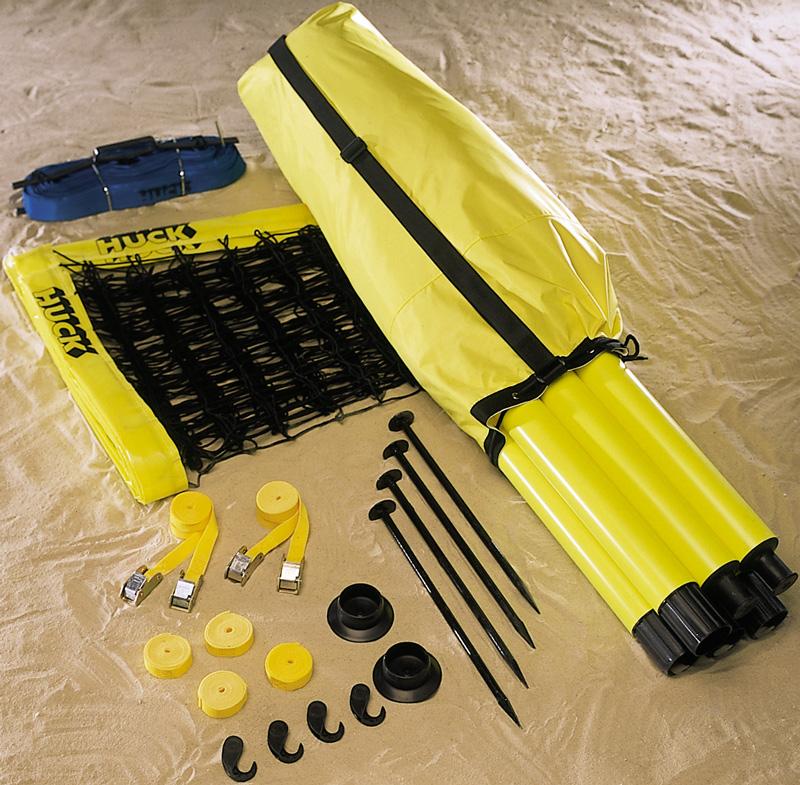 Huck Beachvolleyball Set Profi - Netzmaß 9,50 x 1,00 m