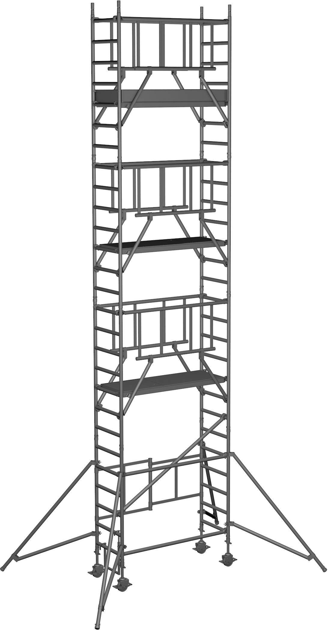 Klappgerüst ZARGES Reachmaster S-PLUS 1T - AH 8,70m