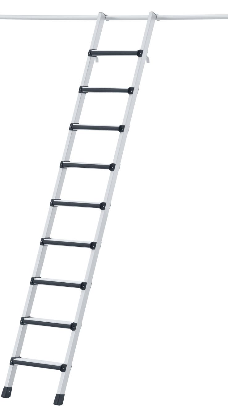 ZARGES Leiter Regalleiter einhängbar Comfortstep LH - Stufen