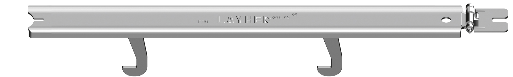 Layher Allround U-Boden-Sicherung 0,39 m