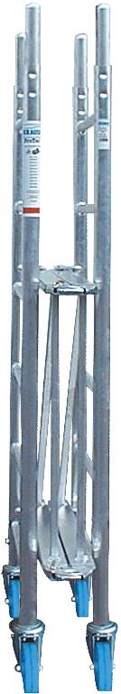 Klappgerüst Krause Monto ProTec XS 0,70x2,00m - AH 2,90m