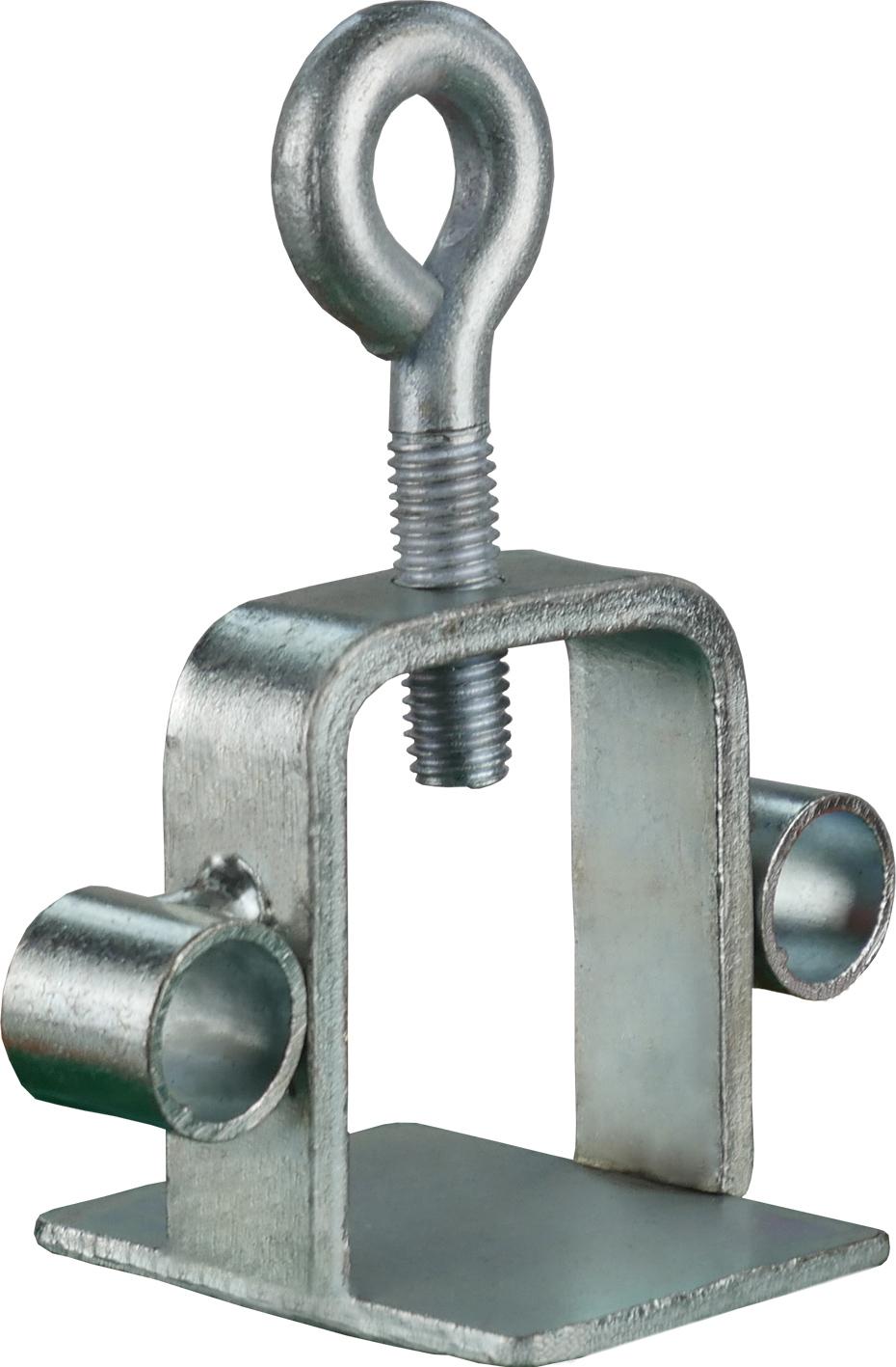 Schake Schilderklemme Stahl mit angeschweißten Ösen