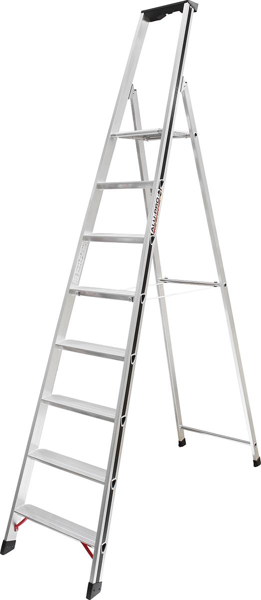 Hymer Alu-Pro Stehleiter 8 Stufen