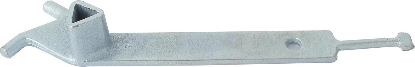 Schake Grauguß-Universalschlüssel für alle Pfosten mit Dreikantverschluss (SK-470.40) Bild-01