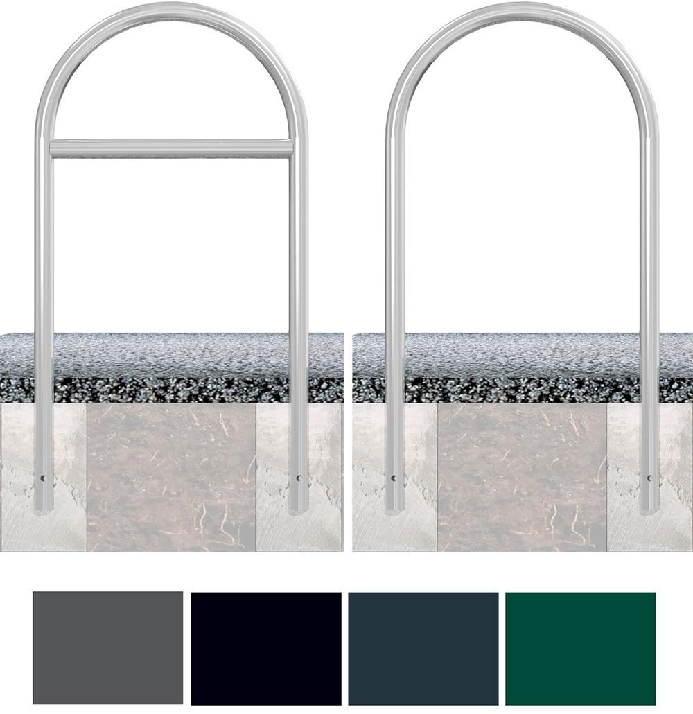 Schake Rundbügel Stahl Ø 48 mm Sonderfarben