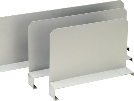 Regalwerk BERT Fachteiler frei verstellbar Fachteiler für BERT Büroregal (RW-C-B3-30399-E) Bild-01