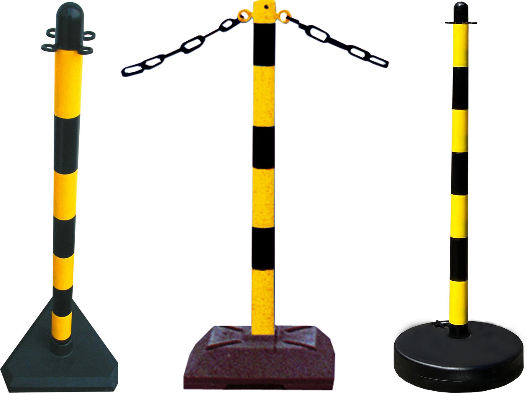 Schake Kettenständer gelb | schwarz