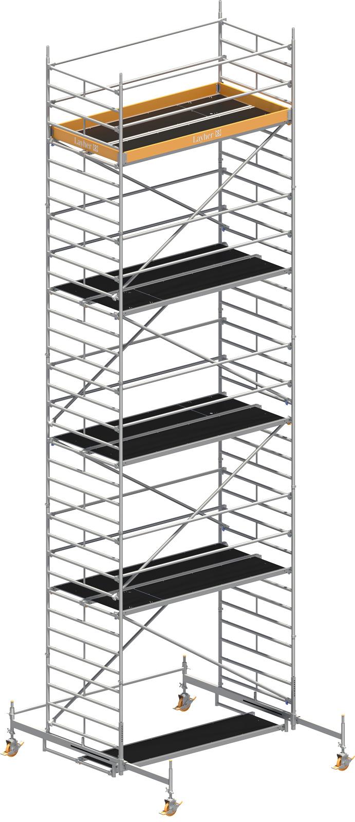 Fahrgerüst Layher Uni Breit P2 1402108 mit Diagonal-Optimierung