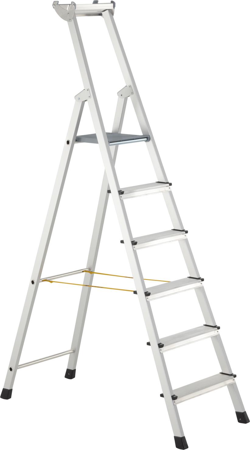 ZARGES Stufen Stehleiter XLstep S - 6 Stufen