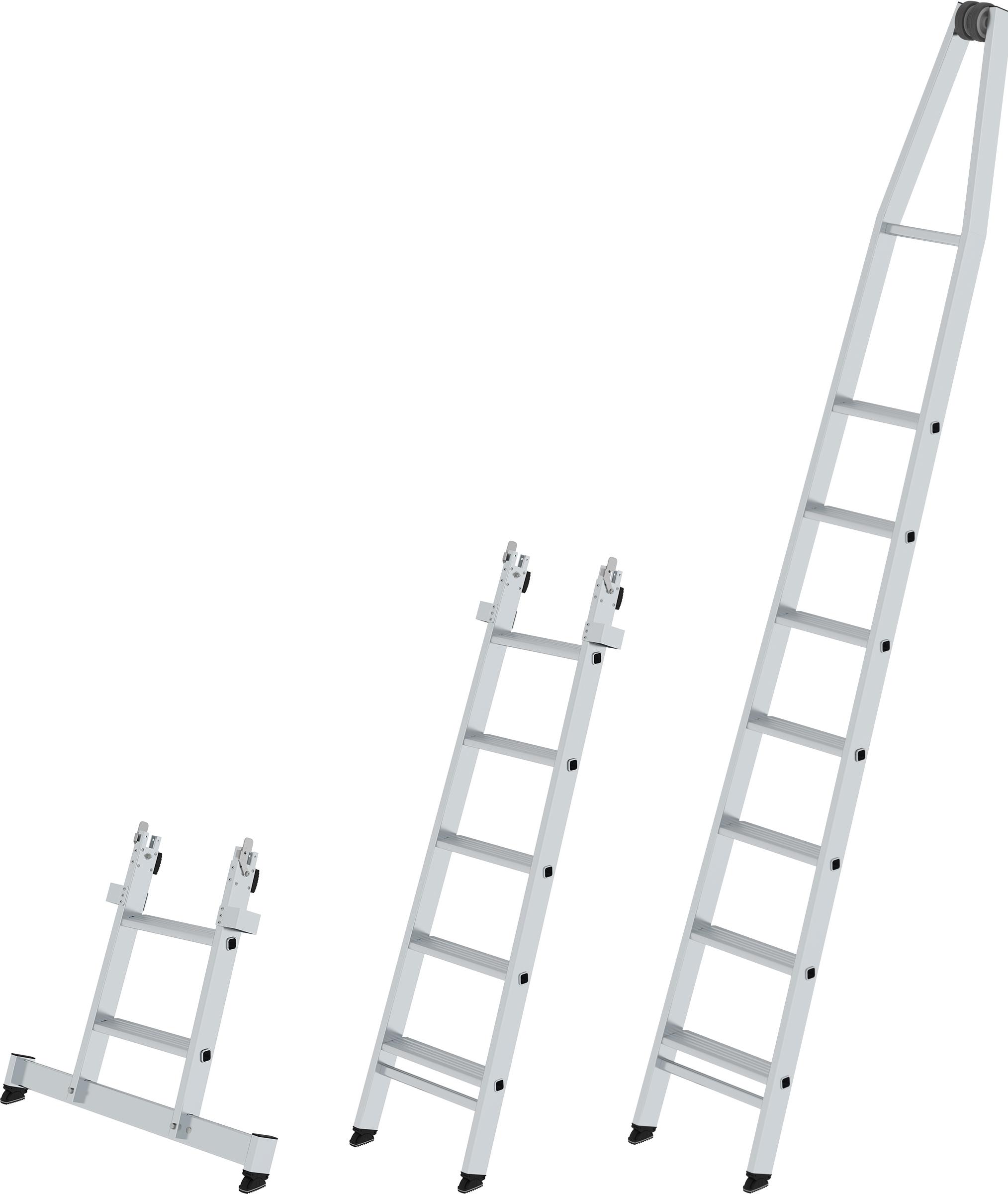 Günzburger Stufen-Glasreinigerleiter Einzelteile