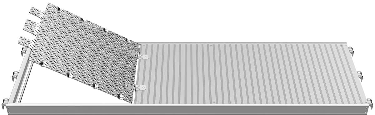 Layher U-Alu-Durchstieg 1,57 x 0,61 m