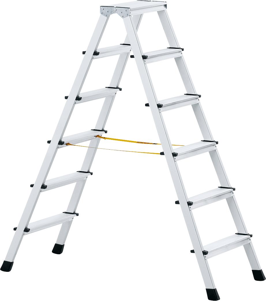 ZARGES Stufen Stehleiter XLstep B - 2x6 Stufen