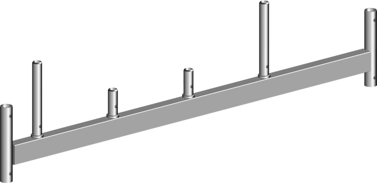 Layher Fahrgerüst Stahl-Fahrbalken ohne Bügel 1,80 m