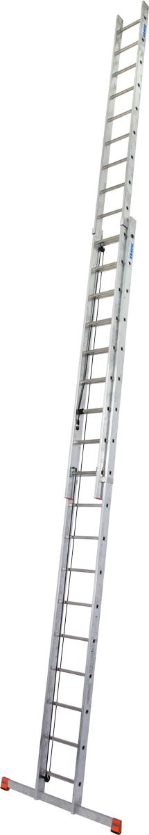 Krause Alu-Sprossenseilzugleiter Robilo® 2x18 Sprossen