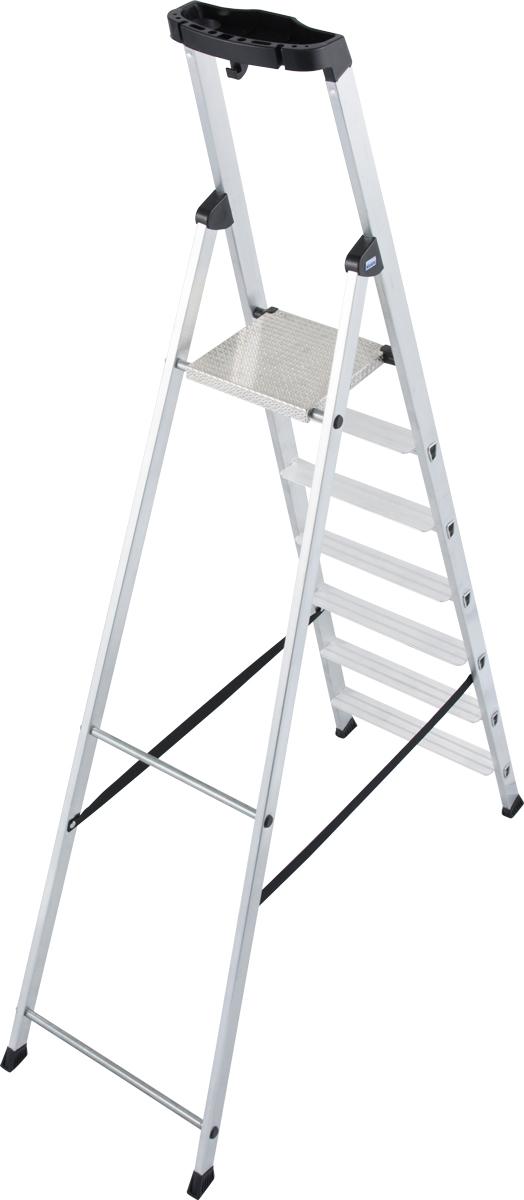 Krause Alu-Stufenstehleiter Solido® 7 Stufen