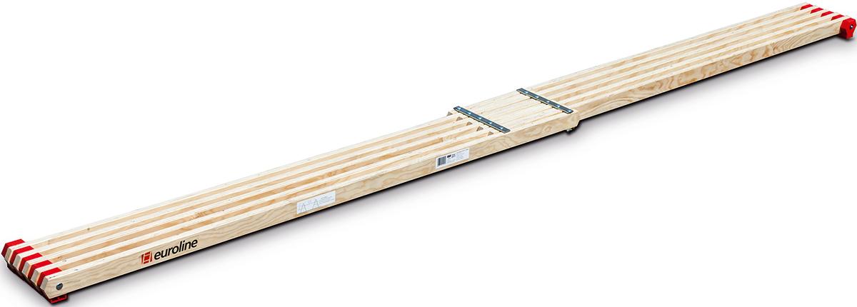 euroline Holz-Bohle 2,10 m - 3,60 m