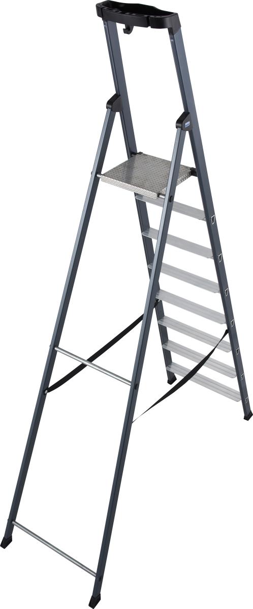 Krause Alu-Stufenstehleiter Sepro® S eloxiert 8 Stufen