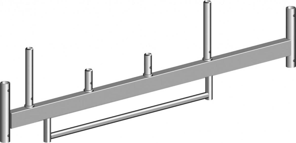 Layher Fahrgerüst Stahl-Fahrbalken mit Bügel 1,80 m